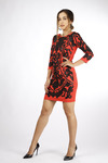 Favori Women Pattern Printed Dress